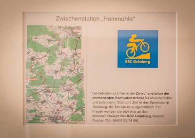 Hainmühle Radwanderweg